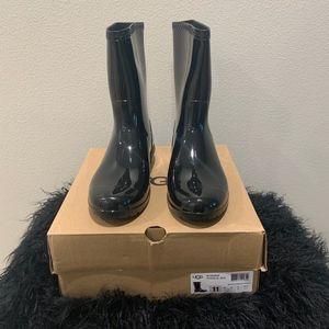 UGG Sienna W Black Rainboots